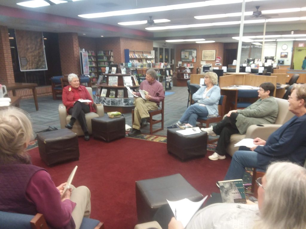 book group talking